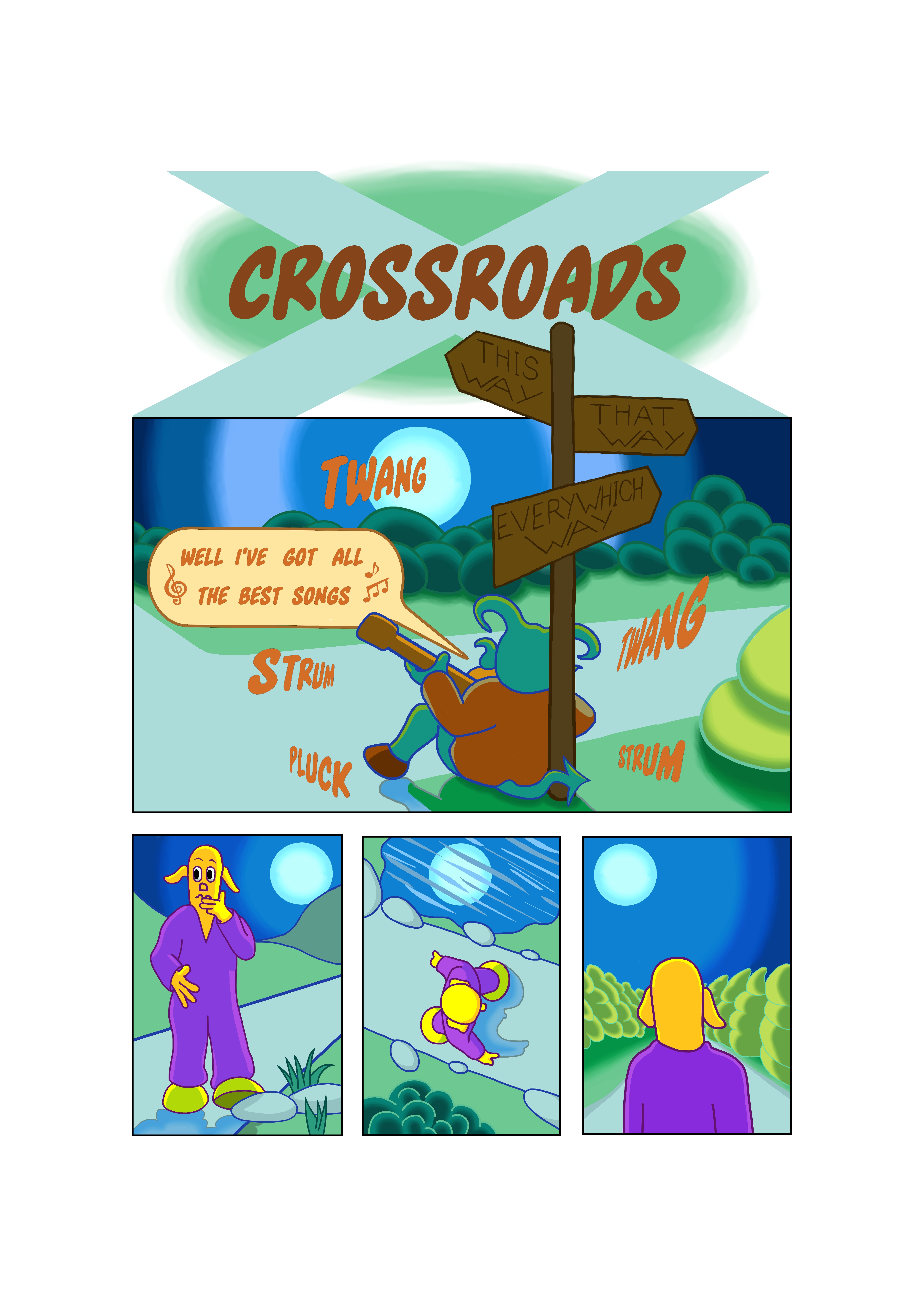 Crossorads title page